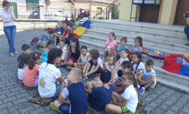 FOTO: Sportiva Raluca Ciulei, președinta Asociației Love for Life a ajuns la Sebeş
