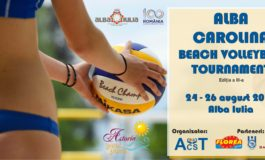 În weekend: Alba Carolina Beach Volleyball Tournament, ediția a III-a, la Astoria Pool Park