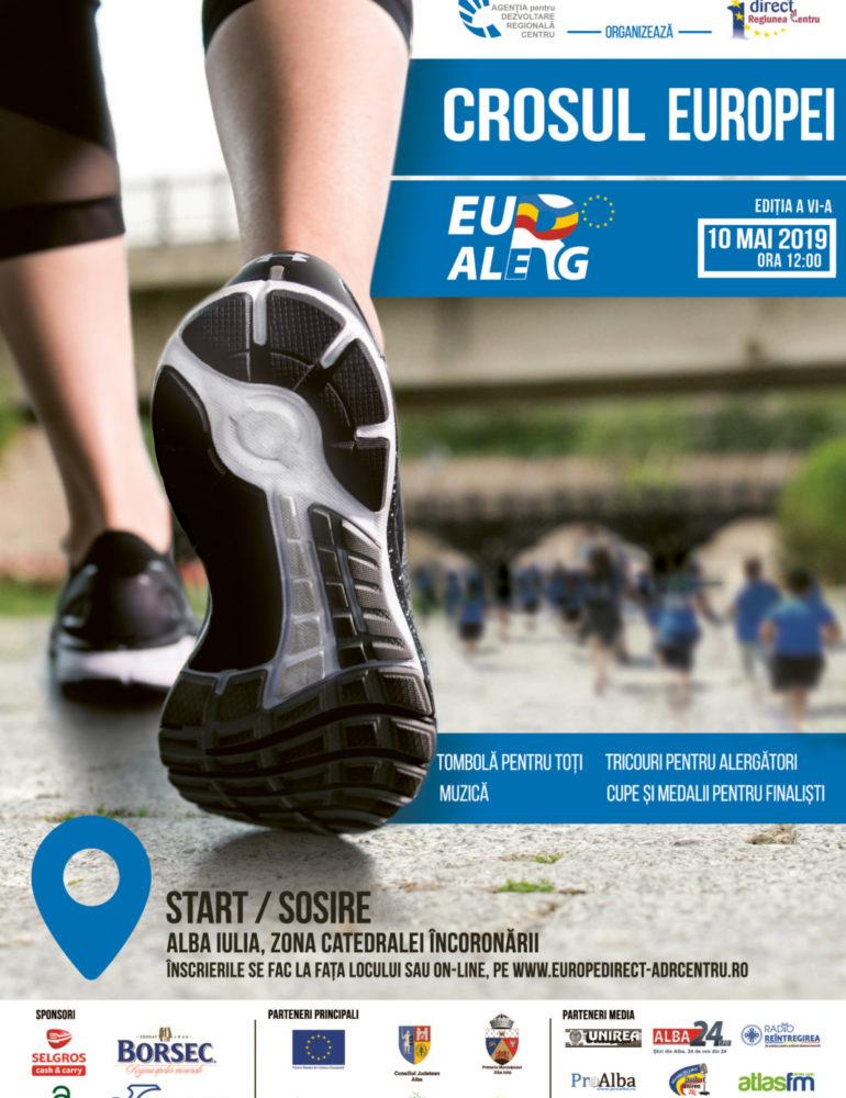 10 mai: EU aleRg la Crosul Europei de la Alba Iulia