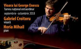 ASTĂZI: Vioara lui Enescu îşi continuă călătoriile din fiecare toamnă şi ajunge la Alba Iulia