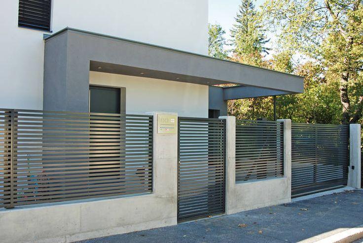 Gardurile din beton, o alegere tot mai comună în rândul proprietarilor de case