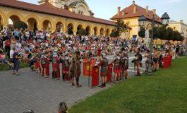Una din atracțiile turistice ale orașului Alba Iulia, Garda Apulum, va continua să facă spectacol și în acest început de toamnă