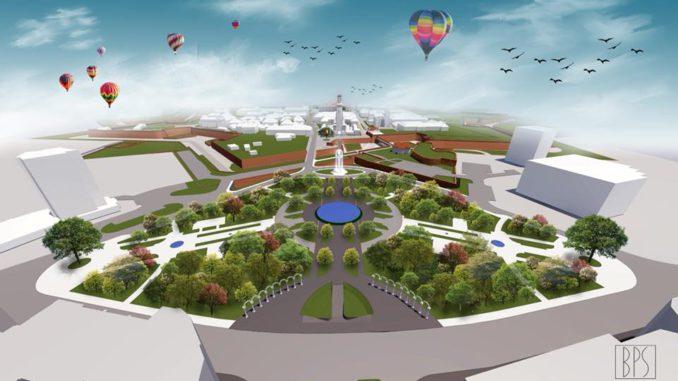 FOTO: Aşa va arăta zona Parcului Unirii din Alba Iulia. Primarul Mircea Hava solicită opinia cetățenilor