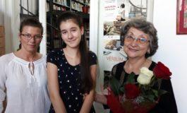"""FOTO: """"Aripi de culoare"""", expoziția de pictură a micuței Diana Todoran, la Biblioteca Județeană ,,Lucian Blaga"""" Alba"""