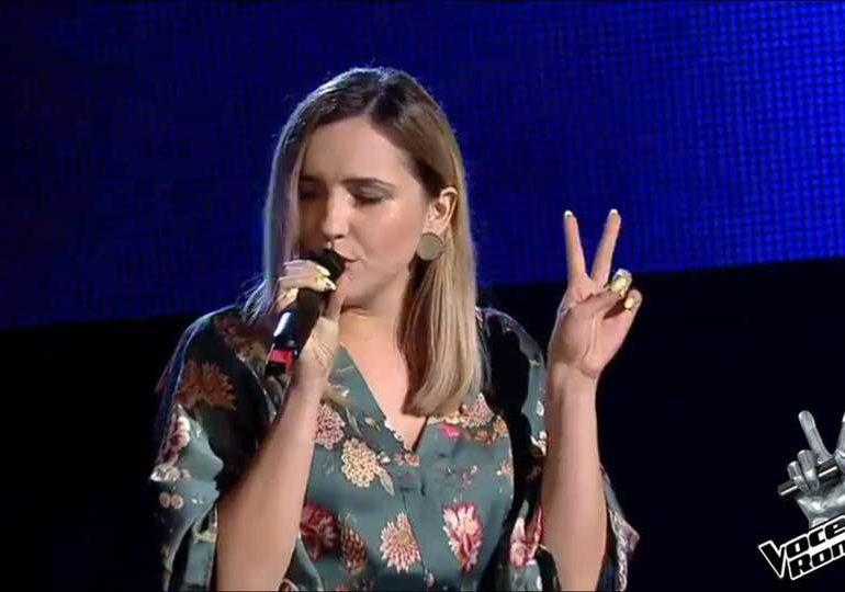 VIDEO: Antinia Simion, interpretare de excepţie la Vocea României. Va merge mai departe în echipa Irinei Rimes