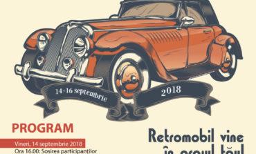 """14-16 septembrie: Sebeșul găzduiește evenimentul """"Retromobil vine în orașul tău""""! Mașinile de odinioară, o expoziție de machete și artiști renumiți, într-un weekend de poveste"""