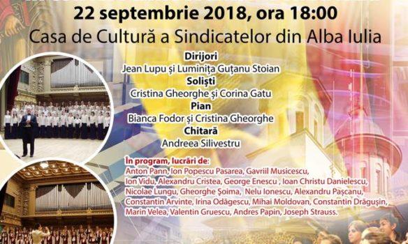 """SÂMBĂTĂ: """"Cântând Centenarului Unirii"""" – concert extraordinar al Corului de copii şi tineret """"Symbol"""" al Patriarhiei Române"""
