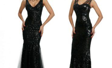 Rochiile de seară negre: în câte feluri poate fi definită eleganța?