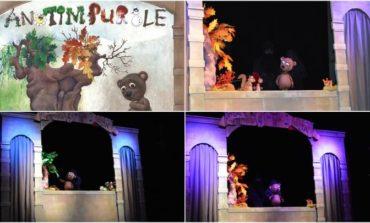 """FOTO: În weekend, Teatrul de Păpuși """"Prichindel"""" din Alba Iulia va prezenta spectacolul """"Ursulețul și anotimpurile"""", la Festivalul Stradal WonderPuck Cluj-Napoca"""