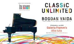 25 octombrie: Turneul național Classic Unlimited ajunge la Alba Iulia. Piese din Brahms, Debussy, Enescu, Prokofiev și Ciprian Pop, la Framm's