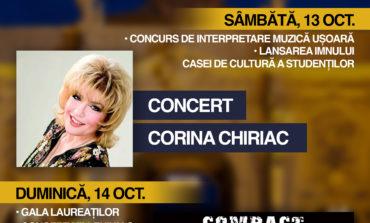 """13-14 octombrie: Festivalul """"Voices"""", la Alba Iulia. Concert COMPACT, CORINA CHIRIAC și lansarea imnului Casei de Cultură a Studenţilor"""
