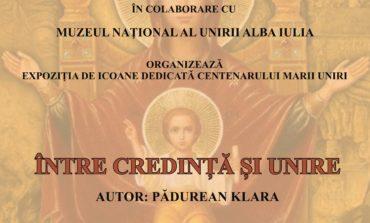 """JOI: Expoziția de icoane în cruce intitulată """"Între Credință și Unire"""", la Muzeul Museikon din Alba Iulia"""