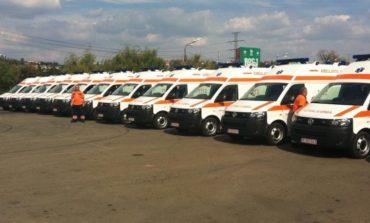 FOTO ADR Centru: Aproape 20 milioane euro pentru 211 ambulanțe în județele Alba, Brașov, Covasna, Harghita, Mureș și Sibiu