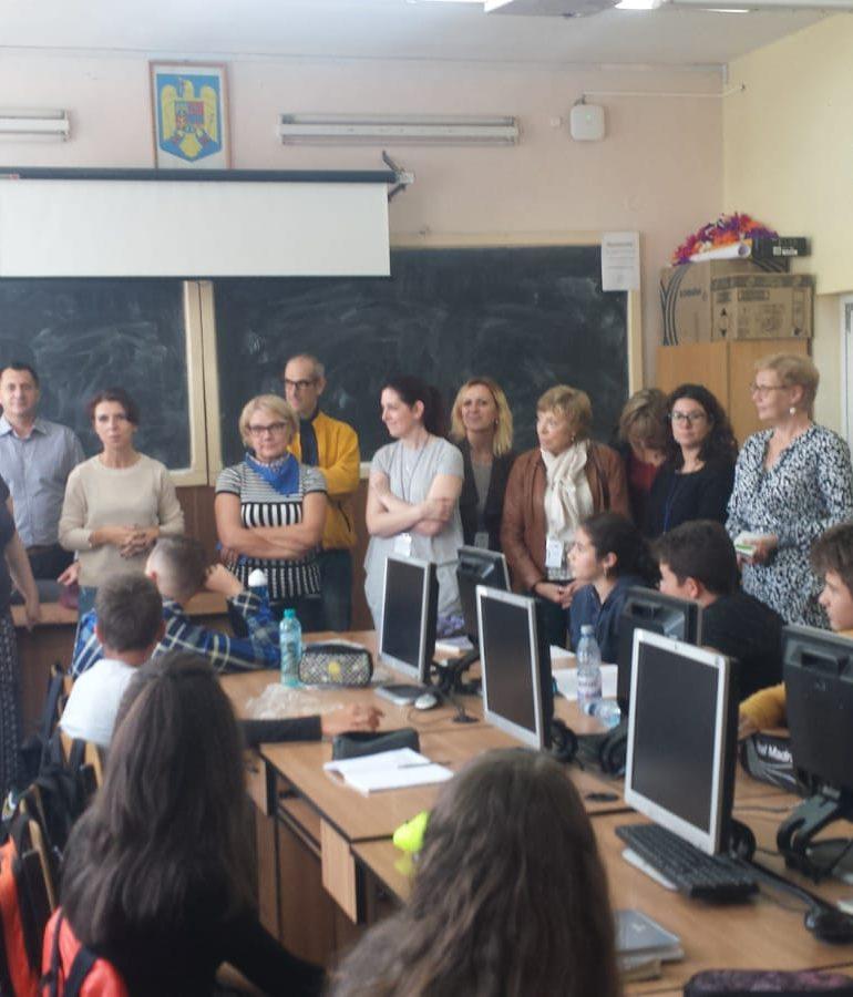 "FOTO: ""Mens Sana in Corpore Sano"" – proiect Erasmus+ derulat la Colegiul Economic ""Dionisie Pop Marțian"" din Alba Iulia"