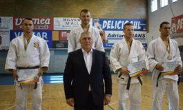 FOTO: Sergentul major Paștiu Adrian Gabriel de la Jandarmeria Alba, vicecampion naţional la judo