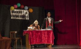 Marţi: Spectacolul Jubileul -  după A.P.Cehov pus în scenă de Grupul Skepsis, la Casa de Cultură a Studenţilor din Alba Iulia