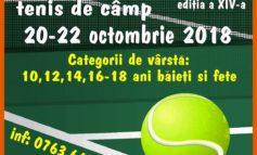 """20-22 octombrie: A XIV- a ediție a Cupei """"Muhlbach"""" la tenis de câmp, la Sebeş"""