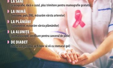 13-14 octombrie: Testări gratuite pentru depistarea cancerului de sân la Ighiu și Bistra
