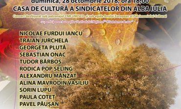 Duminică: Concert extraordinar de romanţe la Alba Iulia