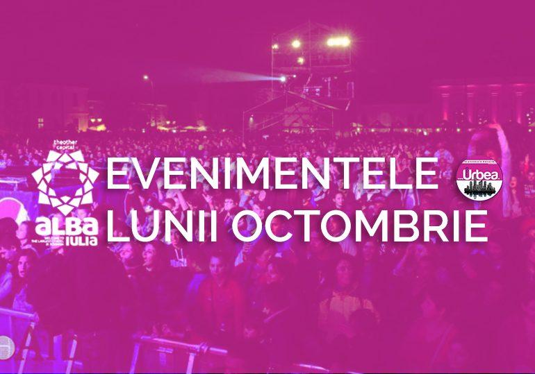Evenimentele lunii OCTOMBRIE, la Alba Iulia: Concerte, spectacole, aventură şi multă distracţie de noapte pentru studenți