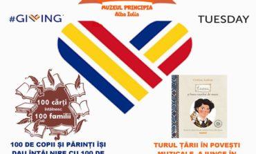 MARȚI: 100 de copii își dau întâlnire cu 100 de cărți