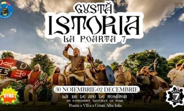 """30 noiembrie - 2 decembrie: Gustă Istoria la """"Poarta 7"""". O călătorie prin istoria gastronomiei românești"""