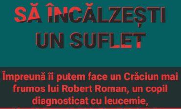 """1 decembrie cu Clubul LEO Alba Iulia Fortress: """"VINo să încălzești un suflet"""", eveniment caritabil pentru Robert Roman, băiețelul diagnosticat cu leucemie"""