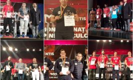 FOTO: Sportivii legitimați la CS Unirea Alba Iulia, șase medalii de aur la Campionatul Național de Powerlifting