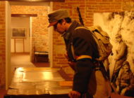 """FOTO-VIDEO: Vernisarea expoziției """"Legiunea română – Portrete de ofițeri și soldați, pe fronturile Primului Război Mondial"""", la spațiul expozițional de la Poarta a III-a"""