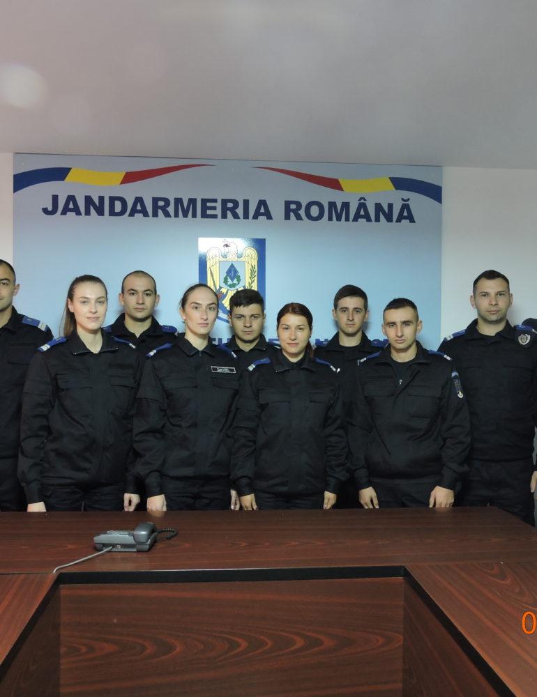 """FOTO: Familia Inspectoratului de Jandarmi Județean""""Avram Iancu"""" Alba s-a mărit cu 9 membri"""