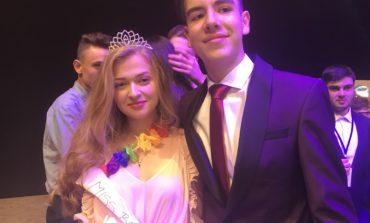 Foto-Video: Alexandra Prața și Rareș Fiț au fost desemnați MISS și MISTER BOBOC 2018, la Colegiul Horea, Cloșca și Crișan din Alba Iulia