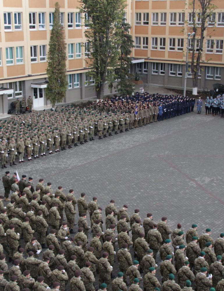 Ceremonii militare în Alba-Iulia, de Ziua Națională a României