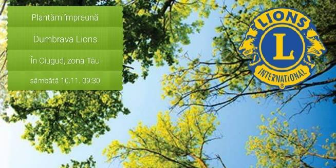 Sâmbătă, la Ciugud se plantează Dumbrava Lions