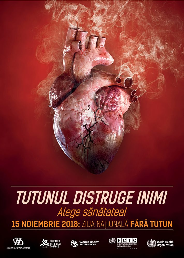 15 noiembrie: Activități de informare pentru elevi și părinți cu ocazia Zilei Naționale fără Tutun