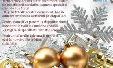 De Crăciun, SM Speromax este alături de pacienții din județul Alba