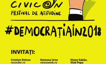 7 - 9 decembrie: CivicON 2018  – ediția a II-a a festivalului de atitudine organizat de Forum Apulum la Alba Iulia