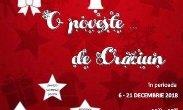"""6 - 21 decembrie: """"O POVESTE... DE CRĂCIUN"""" la Sebeș"""