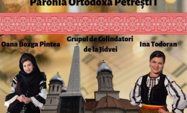 Sâmbătă: Concert caritabil de Crăciun la Biserica din Petrești pentru o fetiță care suferă de Cheilopalatoschizis