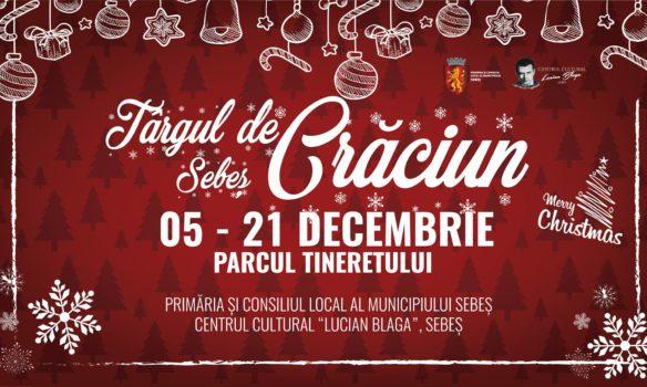 Târgul de Crăciun 2018, la Sebeș: Programul zilelor în care se vor contura povești de iarnă, cu personaje care să aducă bucurie copiilor, un patinoar cu acces gratuit, căsuțe decorate cu produse specifice Crăciunului