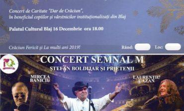 """DUMINICĂ, 16 decembrie: Concert de caritate """"Dar de Crăciun"""""""