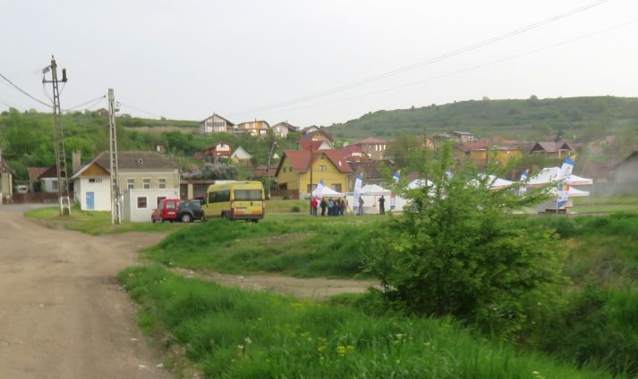 FOTO: Eco-agrement cu fonduri regio la Aiud