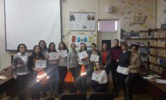FOTO: Ziua Internațională a Drepturilor Omului marcată de liceeni albaiulieni