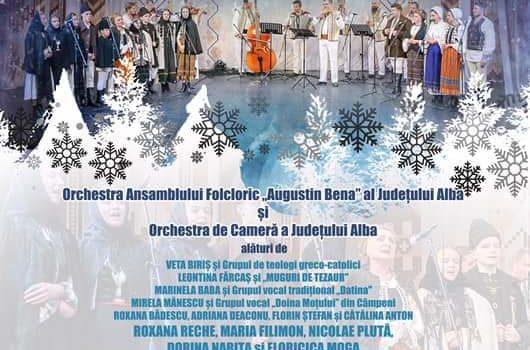 15 decembrie: Concert tradițional de colinde la Alba Iulia