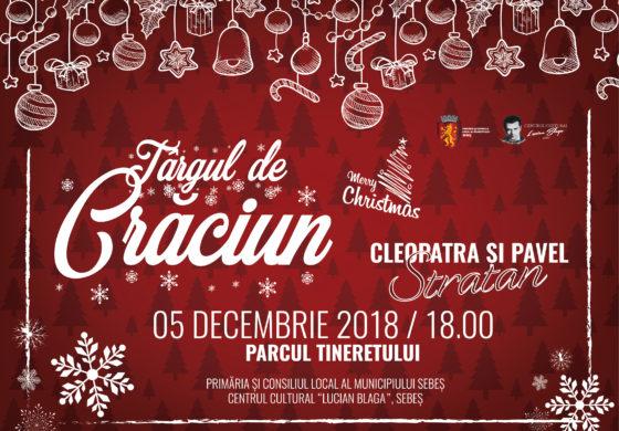 5 DECEMBRIE: Deschiderea Târgului de Crăciun din Sebeș. Patinoar cu acces gratuit, căsuțe decorate cu produse specifice Crăciunului și multe surprize