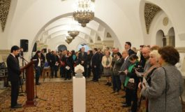 """FOTO: Vernisajul expoziției de artă contemporană """"Imaginile diversității"""", la Muzeul Național Cotroceni din București"""