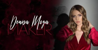 """VIDEO: Denisa Moga, frumoasa artistă din Sebeș a lansat """"Maker"""", primul ei single în limba engleză"""