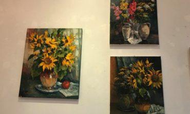 FOTO-VIDEO: Expo art cu Eugen Măcinic și invitații săi, la Galeriile de Artă din Alba Iulia