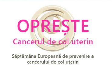 Campanie de informare, educare și comunicare derulată în județul Alba cu ocazia Săptămânii Europene de Prevenire a Cancerului de Col Uterin