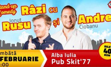 2 februarie: Râzi cu Rusu și Andrei, la Pub Skit' 77 din Alba Iulia