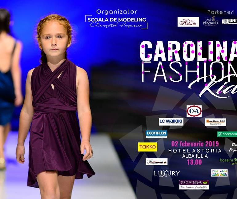 Sâmbătă: A V-a ediţie a evenimentului Carolina Fashion Kids, derulat de Şcoala de Modeling Cleopatra Popescu